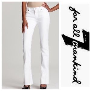 7 for All Mankind Kaylie Supermodel Slim & Sexy 32